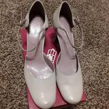 Nine West Shoes | Mary Jane Pumps | Color: White | Size: 10