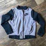 Nike Jackets & Coats   Nike Boys Varsity Bomber Style Jacket Coat   Color: Black/Gray   Size: Mb