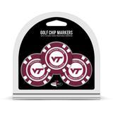 Virginia Tech Hokies Golf Chip 3-Pack Set