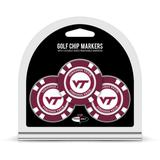 """Virginia Tech Hokies Golf Chip 3-Pack Set"""