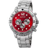 Quartz Red Dial Watch - Red - August Steiner Watches
