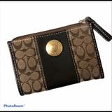 Coach Bags | Coach Skinny Mini Id Case Wallet | Color: Brown/Tan | Size: 5 Inches L X 3.5 Inches H