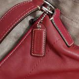 Coach Accessories | Red Leather Coach Purse | Color: Red | Size: Os