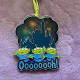 Disney Holiday   Disney Toy Story Aliens Little Green Men Ornament   Color: Blue/Green   Size: Os