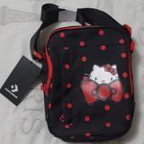 Converse Bags | Hello Kitty Converse Crossbody Bag | Color: Black/Red | Size: Os