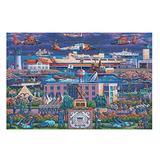 Leemon Studio 1000 Pieces US Coast Guard Paper Puzzle Mini Tiny - Jigsaw Puzzle for Family Games White 500pieces