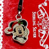 Disney Jewelry   Disney'S Mickey Mouse Holiday Charm .925 Silver!   Color: Silver   Size: Os