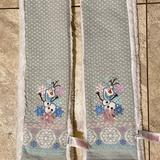 Disney Accessories | Disney Frozen Childs Scarf | Color: Silver/White | Size: Osg
