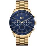 Boston Gold-plated Bracelet Watch 42mm - Metallic - Lacoste Watches