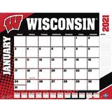 """""""Wisconsin Badgers 2021 Desk Calendar"""""""