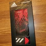 Adidas Other | Adidas Men Gk Predator Gl Mtc Glove Soccer Black | Color: Black/Red | Size: Os