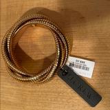 J. Crew Jewelry   Nwt J. Crew Gold Multi-Twist Bracelet   Color: Gold   Size: 2 Diameter
