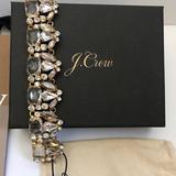 J. Crew Jewelry | J Crew Crystal Bead Bracelets | Color: Gold | Size: Os