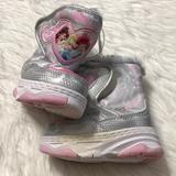 Disney Shoes | Disney Princess Girls Snow Boots Size 5-6 | Color: Pink/White | Size: 5bb