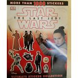 Disney Other | New Star Wars The Last Jedi Ultimate Sticker Book | Color: Red/White | Size: Osbb