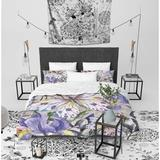 Red Barrel Studio® Bitten Sherpa Single Comforter Polyester/Polyfill/Microfiber/Sherpa/Flannel, Size Queen Comforter   Wayfair