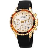 Chronograph Quartz White Dial Watch - Metallic - August Steiner Watches