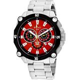 Enzo Chronograph Quartz Red Dial Watch - Red - Roberto Bianci Watches