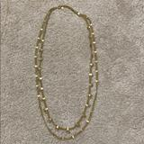 Madewell Jewelry | Madewell Long Gold Multi-Strand Necklace | Color: Gold | Size: Os