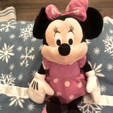 Disney Toys   Large Minnie Mouse Plush Toy   Color: Pink/White   Size: Osg