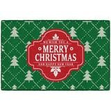 The Holiday Aisle® Christmas Wishes Kitchen Mat Plastic in Gray, Size 0.3 H x 30.0 W x 46.0 D in   Wayfair 26E652CC12D44F71994A4BBBD961E8F1