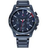 Chronograph Blue Bracelet Watch 45mm - Blue - Tommy Hilfiger Watches