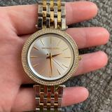 Michael Kors Jewelry | Michael Kors Two Tone Watch | Color: Gold/Silver | Size: Os