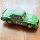 Disney Other | Disney | Chick Hicks Cars Diecast 6 Car | Color: Green | Size: Os