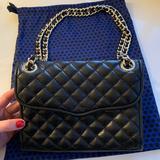 Rebecca Minkoff Bags | Rebecca Minkoff Black Quilted Chain Strap Purse | Color: Black | Size: Os