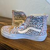 Vans Shoes   Kids Cheetah High Top Vans   Color: Blue/Pink   Size: 13g