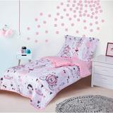 Gemma Violet 4 Piece Toddler Bedding Set Polyester in Pink | Wayfair 0A9CF08E349E4A6FAC72F5722DE9BACF