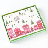 Kate Spade Office   Kate Spade Holiday Village Christmas Cards   Color: Red/White   Size: Os