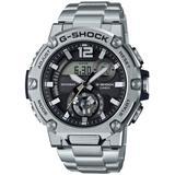 Analog-digital G-steel Stainless Steel Bracelet Watch 43mm - Metallic - G-Shock Watches