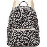 Mini Backpack Womens Small Backpack Purse with Cheetah Print Fashion Shoulder Bag for Girls Teens Kids School Travel Daypack Leopard