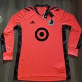 Adidas Shirts | Minnesota United Fc Adidas 20 Adipro Goal Keeper | Color: Orange | Size: L