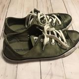 Converse Shoes   Converse Green Satin All Star   Color: Green/Red   Size: 5