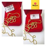 Giani Bernini Jewelry | 24 Sterling Silver Chain With 18k Gold Plating | Color: Gold | Size: 26 Inches