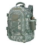 Paladins Backpack Large Work Backpack Military Camo Backpack Molle System Waterproof for Men (ACU)