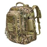Paladins Backpack Large Work Backpack Military Camo Backpack Molle System Waterproof for Men (MULTICAM)