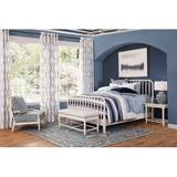 Braxton Culler Lind Island Solid Wood Low Profile Standard Bed Wood in Blue, Size King   Wayfair 846-026/NAVY