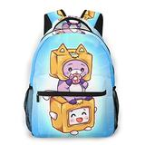 Large Capacity Foxy Boxy School Bags For Girls&Boys College School Kids Computer Bag Daypacks