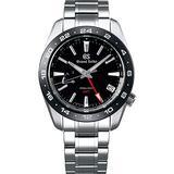 Grand Seiko Black Dial Spring Drive GMT Sport Watch SBGE253