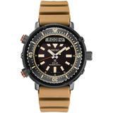 Solar Analog-digital Prospex Silicone Strap Watch 47.8mm - Black - Seiko Watches