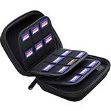 Large Capacity 33 Slots Storage Case Holder for SD Memory Cards, Switch Game Cartridges, PS Vita Game Plus 12 Micro SD Card Holders, Pouch for Card Reader