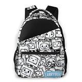 Large Capacity Cute_Lankybox School Bags For Girls&Boys College School Teens Computer Bag Daypacks