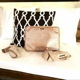 Kate Spade Accessories   Kate Spade Rose Gold Pink Glitter Laptop Sleeve   Color: Gold/Pink   Size: Os