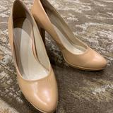 Nine West Shoes | Nine West Nude Heels | Color: Cream | Size: 7.5