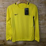 Nike Shirts | Nike Soccer Goalkeeper Jersey Shirt Dri Fit Youth | Color: Yellow | Size: M