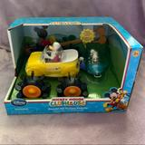 Disney Toys   Disney Store Mickey Mouse Clubhouse Donald Vehicle   Color: Orange/Yellow   Size: Osb