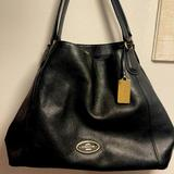Coach Bags   Coach Purse In Black Leather   Color: Black   Size: Os